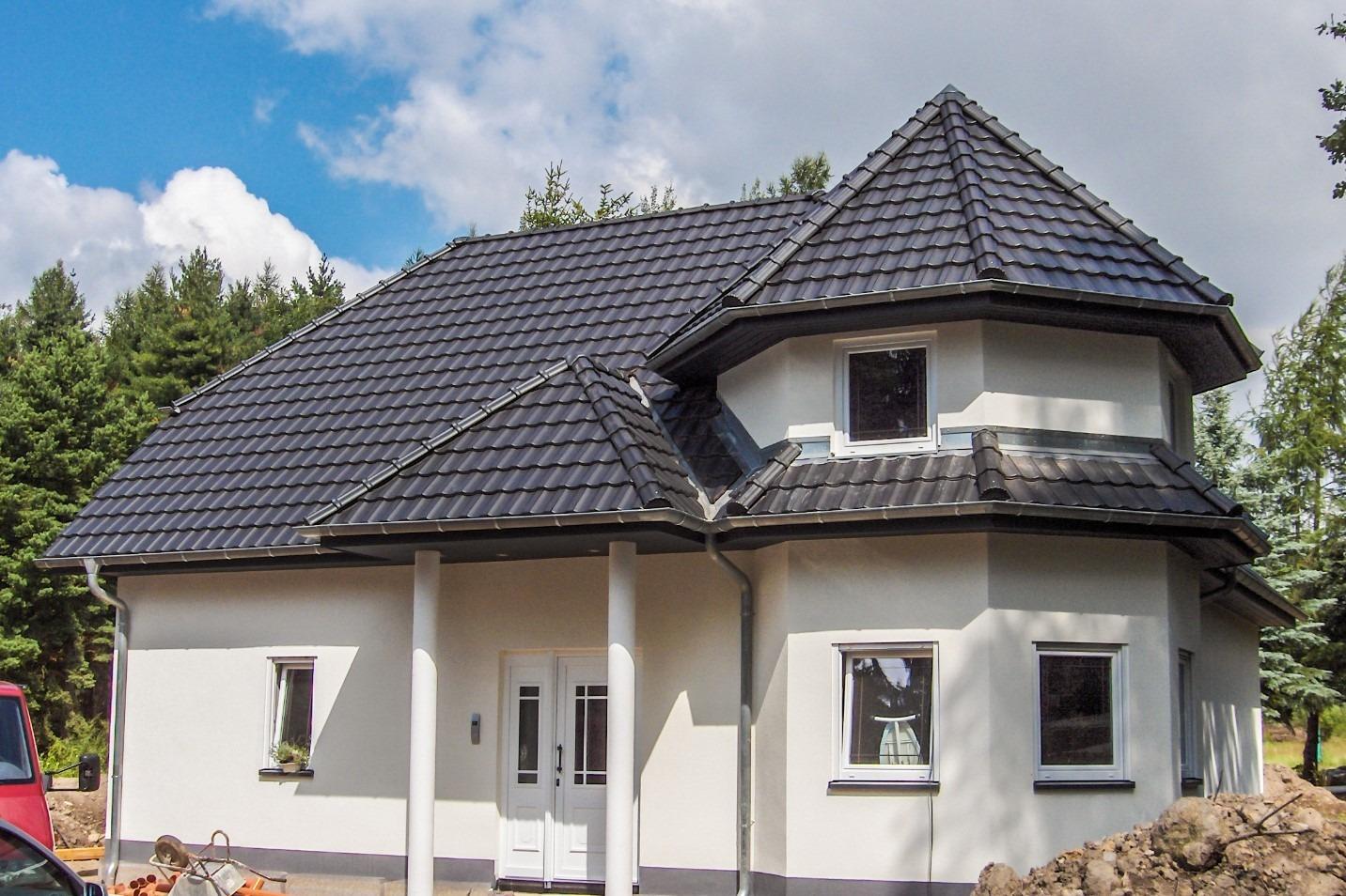 DA Eindeckung mit Dachziegeln