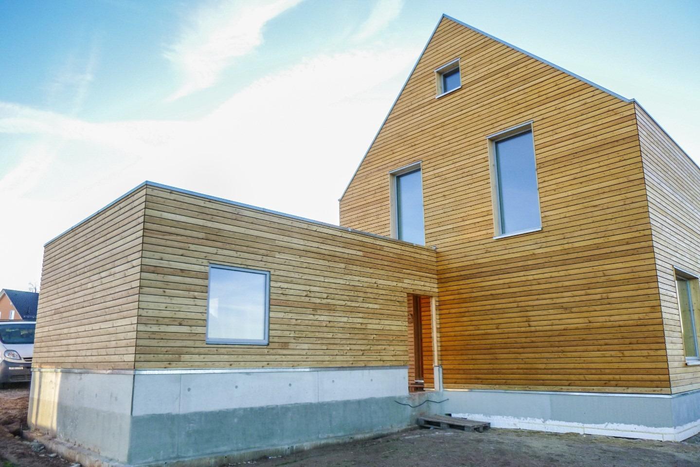HA Einfamilienhaus mit Lärchenfassade