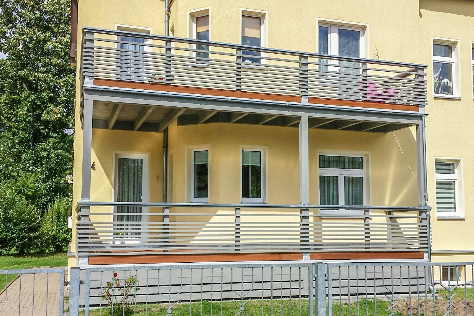 HO Balkon 2-stöckig